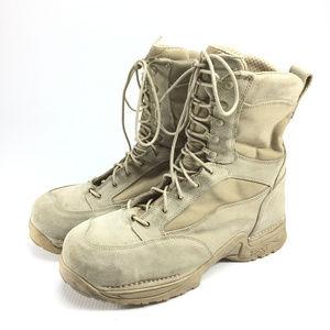 Danner Desert TFX Rough Out steel toe combat boots